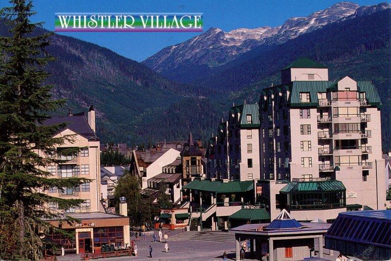 Canada - British Columbia. Whistler Village