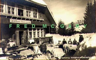 1910 Switzerland RPPC: Engelberg. Waldhaus Gerschnialp