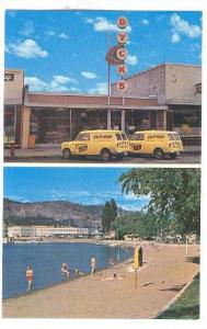 2-Views, Dyck´s Drug Store/Pharmacy, Kelowna, British Columbia, Canada, 1940...