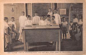 Indonesia, Republik Indonesia Een Klasse Van De Kweekschool  Een Klasse Van D...