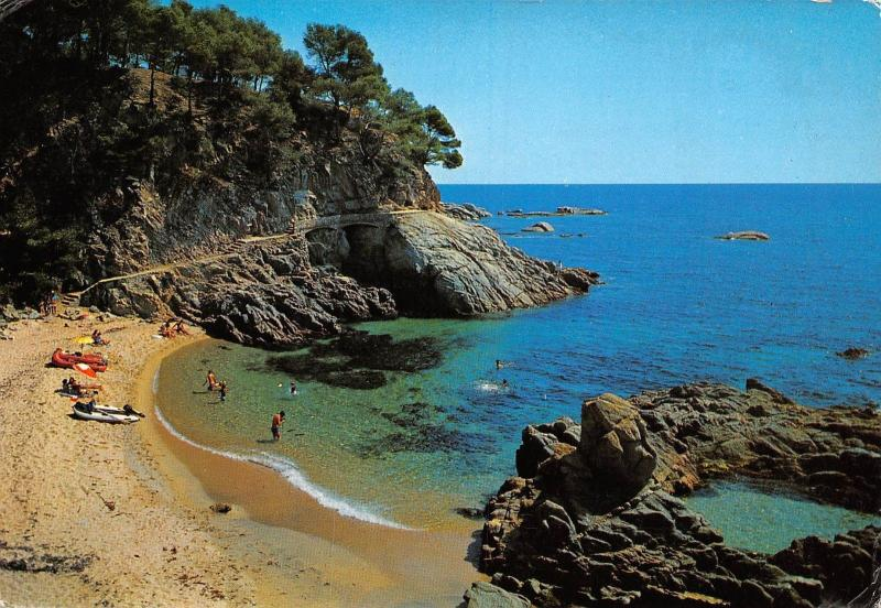 Spain Costa Brava Bello rincon Un beau coin A beautiful corner Schonen Winkel
