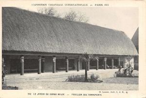 Paris France~1931 Exposition Coloniale Internationale~Congo Belge Pavillon
