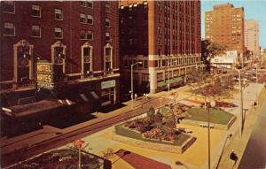 Jackson Michigan~Progress Place~Shopping District~Hotel Hayes~Pixie~Gardens~'60s