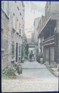 Sous le Cap Street Quebec 1907