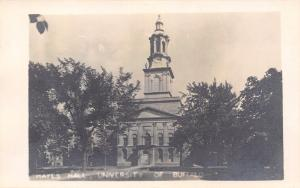 Buffalo NY University Hayes Hall~Real Photo Postcard~Hanser Bob RPPC c1910