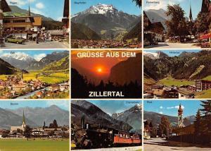Gruesse aus dem Zillertal multiviews Zillertalbahn, Fuegen, Mayrhofen, Hintertux