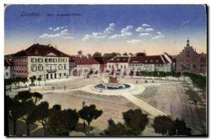 Old Postcard Londau Max Jasephs Platz