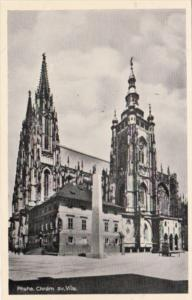 Czechoslovakia Praha The Cathedral St Vitus Church