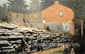 Hannibal, MO, USA Postcard Post Card Tom Meets Huckleberry Finn, Tom Sawyer ...
