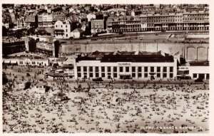 Vintage Kent Real Photo Postcard Ramsgate Olympia & Sand from the Air AD4