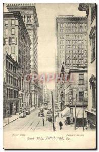Postcard Old Bank Bldg Pittsburgh Pa