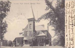 High School, Orange, Massachusetts, PU-1906