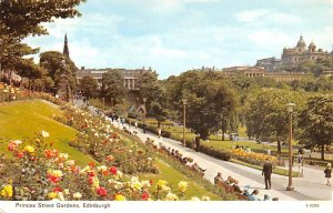 Princes Street Gardens Edinburgh Scotland, UK Unused