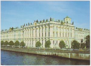 LENINGRAD HERMITAGE BUILDING, RUSSIA