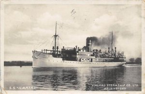 SS Ilmatar Finland SS Co Ship 1933