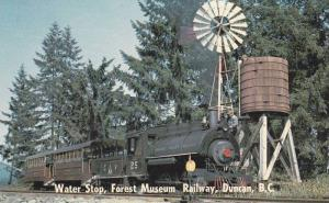 Water Stop, Forest Museum Railway , DUNCAN, B.C.  , Canada , 50-60s