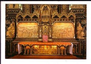 Notre Dome Basilique, Interior Altar Montreal Quebec