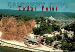 Ohio Sandusky Cedar Point Amusement Park Roller Coaster