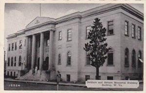 West Virginia Beckley Soldiers & Sailors Memorial Building Dexter Press