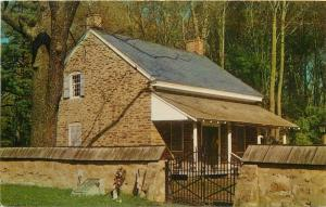 Quaker Society of Friends Meeting House Stoney Brook New Jersey Postcard
