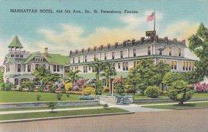 Florida Saint Petersburg Manhattian Hotel 444 5th Avenue South