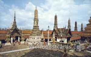 Bangkok Thailand Main Entrance, Emerald Buddha Temple  Main Entrance, Emerald...
