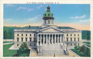 State Capitol Building - Columbia SC, South Carolina - Linen