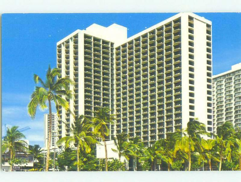 Unused Pre-1980 REGENT HOTEL Honolulu Hawaii HI hr3807