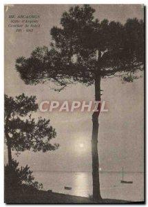 Old Postcard Arcachon Sunset Sunglasses