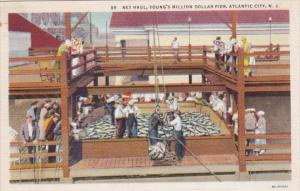 New Jersey Atlantic City Net Haul Young's Million Dollar Pier Curteich