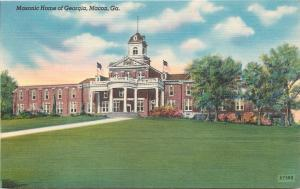 Macon Georgia~Masonic Home of Georgia~Children's Orphanage~1940s