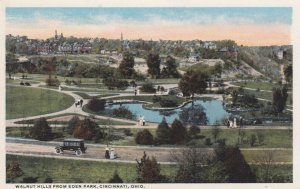 CINCINNATI , Ohio , 1910s ; Walnut Hills from Eden Park