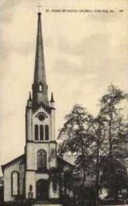 St. Johns Episcopal Church  Carlisle PA Unused