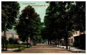 New York  Poughkeepsie ,  Academy street
