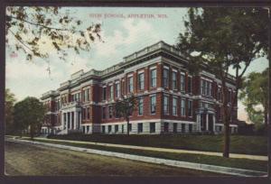 High School,Appleton,WI Postcard