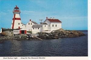 Head Harbour Lighthouse , New Brunswick , Canada  , 60-80s
