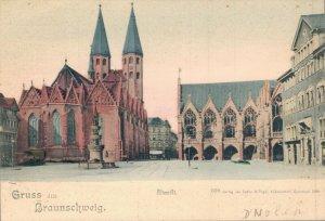 Germany - Gruss aus Braunschweig Altmarkt 04.61