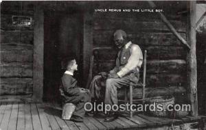 Atlanta, GA, USA Postcard Post Card Uncle Remus & Little Boy, Wren's Nest