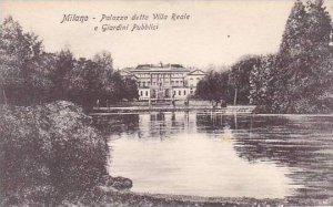 Italy Milano Palazzo detto Villa Reale e Giardini Pubblici