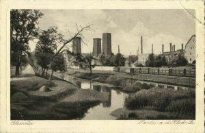 poland, GLEIWITZ GLIWICE, Partie a.d. Klodnitz, Kłodnica (1931) Postcard