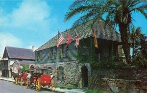 Postcard Oldest House Museum St Augustine Florida