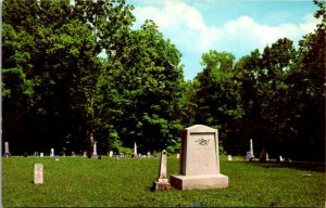 Postcard~Sarah Lincoln Grigsby~Grave~Lincoln State Park, IN.~Abraham Lincoln~A16