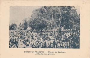 Le Marche, Vue Generale, Mission De Bandjoun, Cameroun Francais, Cameroon, Af...