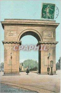 Old Postcard Dijon Porte Guillaunie