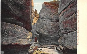 The Pass Olean, New York Postcard