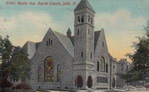 JOLIET, Illinois, 1911; Boston Ave., Baptist Church
