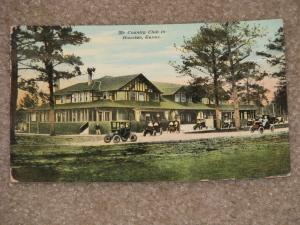 The Country Club in Hoston, Texas, Early 1900`s, unused