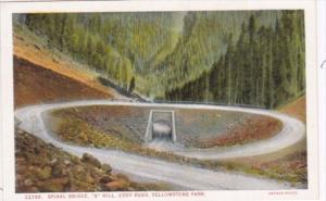 Spiral Bridge S Hill Cody Road Yellowstone National Park