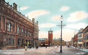 England Blackburn, Town Hall, Animated