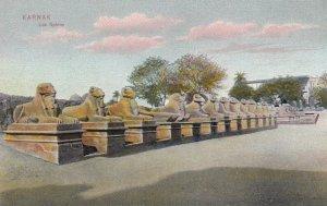 KARNAK, Egypt , 00-10s ; Le Sphinx